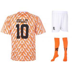 EK 88 Voetbaltenue Gullit 1988 - Oranje - Kids - Senior