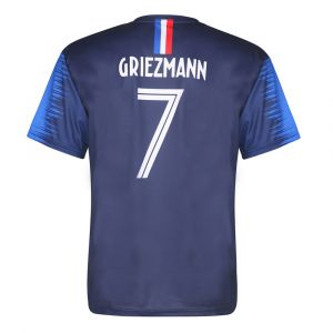 Frankrijk Voetbalshirt Griezmann Thuis 2018-2020