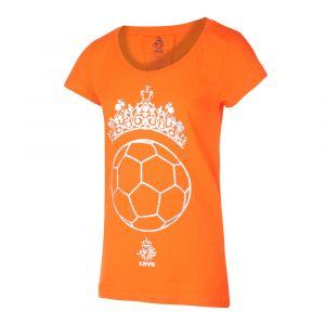 KNVB - Nederlands Elftal - Leeuwinnen T-shirt Dames - Tiara Bal - Eigen Naam - Oranje