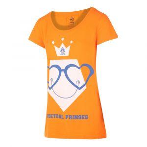 KNVB - Nederlands Elftal - Leeuwinnen T-shirt Dames Voetbal Prinses Eigen Naam