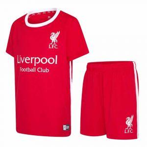 Liverpool Voetbaltenue Thuis Eigen Naam 2021-2022 - Kids