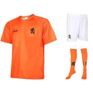 Nederlands Elftal Voetbaltenue Thuis Eigen Naam EK 2020 - Oranje - Kids-Senior