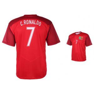 Portugal Voetbalshirt Ronaldo Thuis 2016-2018