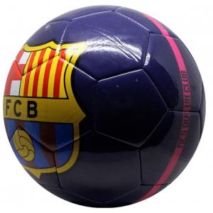 FC Barcelona Voetbal - Maat 5 - blauw/roze